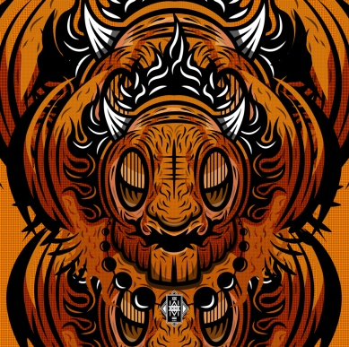 In depth look into detail of Orange.