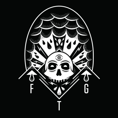Skull Nation design for Facing the Gallows