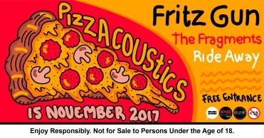 15 November 2017 - Pizzacoustics