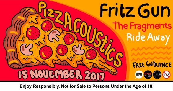 15 November 2017 - Pizzacoustics