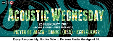 22 February 2017 - Acoustic Wednesday2