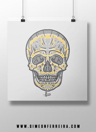 Skull-Poster