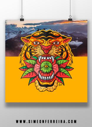 New-Cult-Love-Tiger-Poster